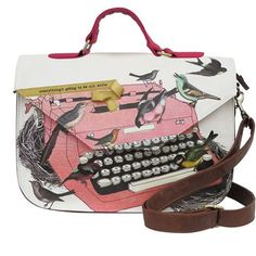 Type Write Satchel from The Literary Gift Company