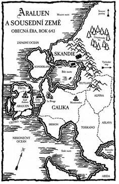 Ranger's apprentice map