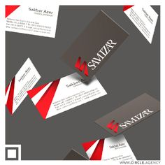 Samizar #businesscard #design by #CIRCLEvisualcommunication #circle #visualcommunication #agency  www.circle.agency