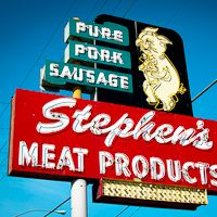 Artist Showcase: American Vintage Sign Photography by Bill Rose via The Inspiration Blog
