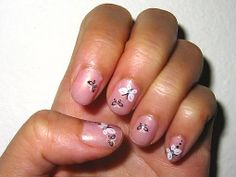 Butterly Nail Stickers
