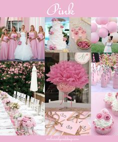 Pink Wedding Palette from exclusivelyweddings.com