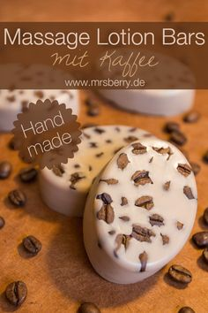 Beauty DIY: Massage-Lotion-Bars mit Kaffee selber machen Beauty DIY: Massage Lotion Make bars with coffee yourself - a quick DIY and a great gift idea for your birthday or for Christmas. Lotion En Barre, Massage Lotion, Massage Bar, Wellness Massage, Beauty Care, Diy Beauty, Beauty Hacks Every Girl Should Know, Homemade Face Lotion, Diy Lotion