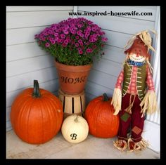 harvest decor center piece home decor i love pinterest fall decor - Harvest Decorations