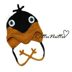 RuttuNuttu: Crochet penguin hat