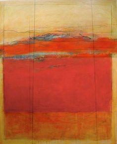 "KAREN JACOBS ""Vermilion View"" 60x48 inches"