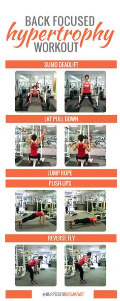 Hypertrophy Workout: Back Focused | Burpees for BFast