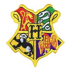 Blue Heron Harry Potter Gryffindor House Crest Hogwart 25 Tall X 23 Wide Embroidered IronSewon Applique Patch ** Visit the image link more details. (This is an affiliate link) Harry Potter Patch, Harry Potter Hogwarts, Sew On Patches, Iron On Patches, Harry Potter Magie, Gryffindor Slytherin Hufflepuff Ravenclaw, Hogwarts Houses Crests, Kids Party Supplies, Badge