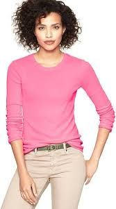 Hot pink top from Gap