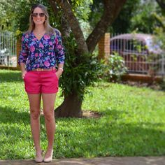 Shirt pink - camisa - look findi