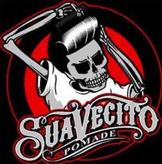 Suavecito is what I use on my hair and it rules! Rockabilly Pin Up, Rockabilly Fashion, Psychobilly, Tattoo Studio, Barber Logo, Lowrider Art, Chicano Art, Beard Grooming, Hair And Beard Styles