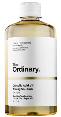 the ordinary glycolic toner If Youre Late to The Ordinary Hype, Start With These Products ordinary skincare If You're Late to The Ordinary Hype, Start With These Products The Ordinary Products, The Ordinary Skincare, The Ordinary Toner, Sugar Scrub Diy, Diy Scrub, Beauty Care, Beauty Skin, Health And Beauty, Glycolic Acid Toner