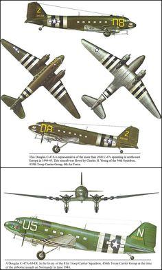 Douglas C47-A that my Dad flew