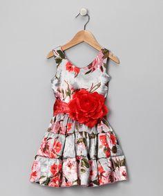 Dreamy Rose Garden Dress - Toddler & Girls | Daily deals for moms, babies and kids