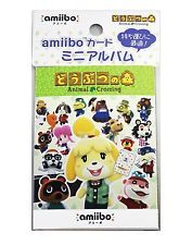 Animal Crossing case mini album for amiibo card Happy home designer Japanese New