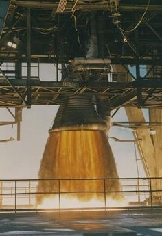 Saturn F1 Engine Firing