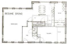 plattegrond slaapkamer begane grond - Google zoeken