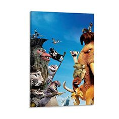 Wall Art Pictures, Print Pictures, Ice Age Movies, Modern Family, Canvas Art, Bedroom Decor, Poster Prints, Classic, Gifts