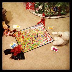Elf on the Shelf: Family game night