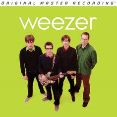 WEEZER - GREEN ALBUM (NUMBERED LIMITED EDITION 180G Vinyl LP)
