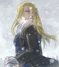 Olivier Mira Armstrong ~ I wouldn't mind having this as a poster. :P