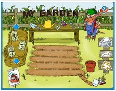 Therapy Activity/Resource: My Garden - Pinned by #PediaStaff. Visit http://ht.ly/63sNt for all our pediatric therapy pins