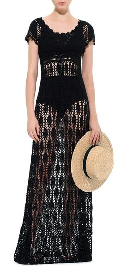 Alessandra Meskita crochet dress
