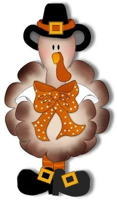 Thanksgiving Turkey Clip Art | Click on image for a larger picture ...
