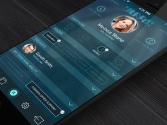 Contacts - My Profile by Kreativa Studio