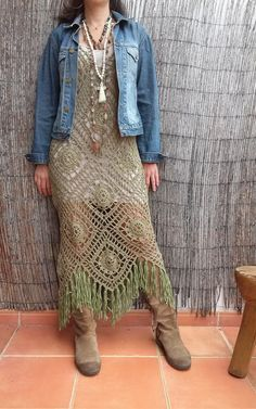 Bo-M: Vestido comprido