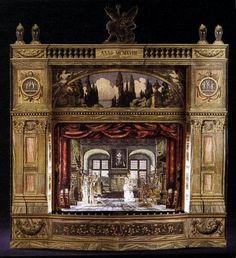 Paper Theater found on French blog - Blog de crinoux :Théâtre de papier et autres petites choses, Fabriquer son théâtre de papier