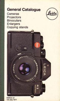 Leica Leitz General Catalog 1977 Cameras Lenses Projectors Binoculars