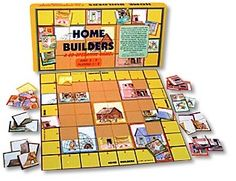 Home Builders Cooperative Game by Family Pastimes #cooperative #games at www.cooperativegames.com