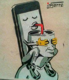 Alienation - graffiti by inSerra