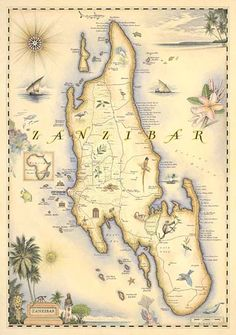 Zanzibar - one of my favourite exotic places in Africa that I would LOVE to visit.