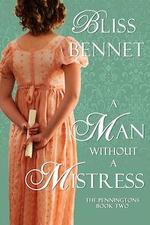Bliss Bennet: Man Without a Mistress December 21, 2015