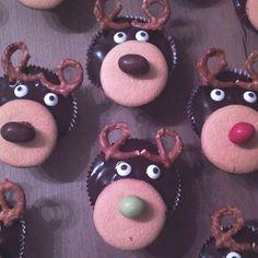 Leckere Rentier-Muffins - mal ein anderes Weihnachtsgebäck