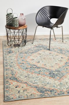 This elegant set from the Odyssey range features a traditional design heavy on floral and arabesque laid on a blue and earthly toned scheme mixed hand finishing textures wh Elegant Sets, Dark Blue Rug, Traditional Design, Navy Rug, Contemporary, Furniture Accessories, Rugs, Area Carpet, Rugs Online