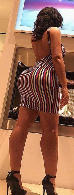 Enormous ebony ass