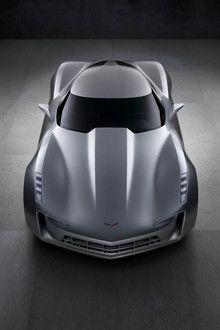 corvette stingray concept 3 at Corvette Stingray Concept 50th Anniversary