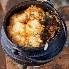 Dié geurige pot is vinnig om te maak en ook 'n sakpas-ete as jy baie mense moet kosgee. Braai Recipes, Beef Steak Recipes, Meat Recipes, Mexican Food Recipes, Cooking Recipes, Lamb Recipes, What's Cooking, Authentic Mexican Recipes, Hardboiled
