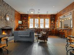 Come visit the renovated Pub at Mad River Barn. Open year round, it is a great place to hang out in every season. www.madriverbarn.com