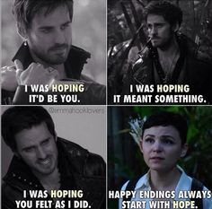 BOOOOOM MY HEART EXPLODED. SNOW KNOWS BEST! CAPTAIN SWAN IS MY HAPPY ENDING! Credits to EmmaHookLovers on Instagram!! #ouat #onceuponatime