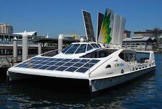 solar boat   Solar Boats