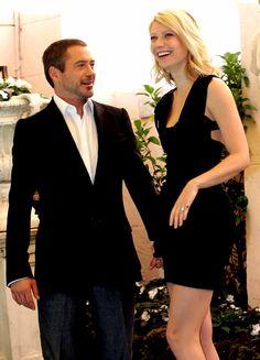 Robert Downey Jr. and Gwyneth Paltrow.