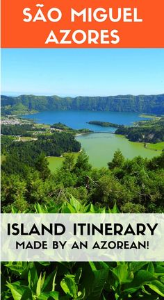 The ultimate insider itinerary to São Miguel island in Azores. Made by an Azorean with local tips the best things to do and see and even where to eat!  #azores #portugal #travelguides #saomiguel /visitportugal/ @visitazores