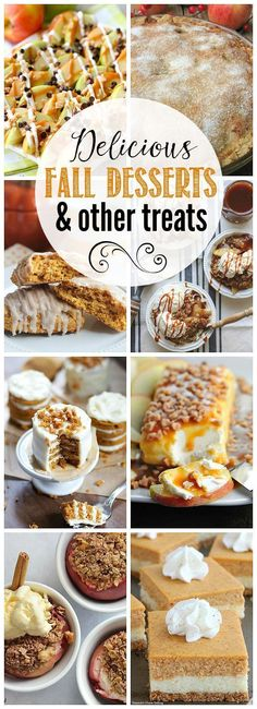 Fall Flavors for Desserts . the Best Ideas for Fall Flavors for Desserts . Fall Desserts Clean and Scentsible Potluck Desserts, Fall Dessert Recipes, Fall Desserts, Desert Recipes, Fall Recipes, Fall Wedding Desserts, Fall Wedding Cakes, Fall Cookies, Sweet Tarts