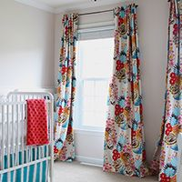 how to sew black-out lined back-tab curtains - and other inspirational curtain ideas!, how to curtains, how to drapes