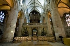 Christmas at Gloucester Cathedral