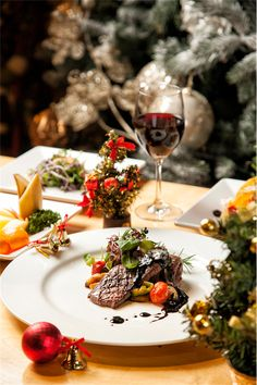 #food #steak #restaurant #photograph #wine  # buffet #christmas #음식사진 #음식 #음식촬영 #메뉴촬영 #스테이크 #뷔페 #크리스마스 #와인